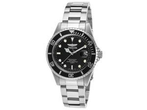 Invicta 8932Ob Men's Pro Diver Stainless Steel Black Dial Watch