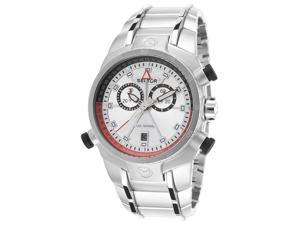 Sector R3273695215 Men's Elegance Chronograph Stainless Steel Silver-Tone Dial Watch