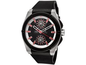 Rotary EGS00012-TZ3-04 Men's Watch with Evolution Black Rubber Black Dial