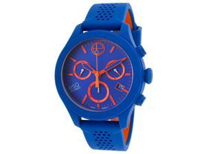 ESQ One Chronograph Blue Silicone and Dial Unisex Watch