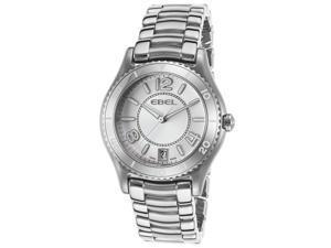 Ebel 1216107 Women's X-1 Ss Silver-Tone Dial Watch
