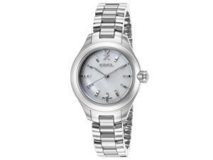 Ebel 1216173 Women's Onde Diamonds Stainless Steel White Mop Dial 30 Mm Watch