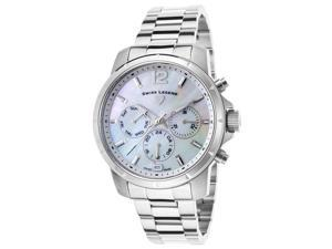 Swiss Legend 16526Sm-22 Legasea Multi-Function Stainless Steel Mother Of Pearl Dial Watch