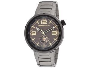 Momo Design Md1011bs-30 Men's Evo Automatic Stainless Steel Grey Dial Watch