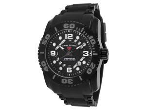 Swiss Legend 10069-Bb-01-Pht Commander Pro Black Silicone, Dial And Case Grey Accent Watch