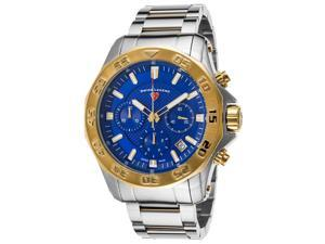 Swiss Legend 16199Sm-Sg-33 Islander Chronograph Ss And Gold-Tone Ss Blue Dial Ss Watch
