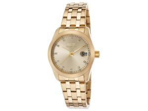 Invicta 21492 Women's Wildflower 18K Gold Plated Steel Gold-Tone Dial Watch