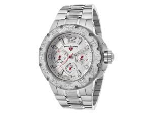 Swiss Legend 14097Sm-22S Ultrasonic Multi-Function Stainless Steel Silver-Tone Dial Ss Watch