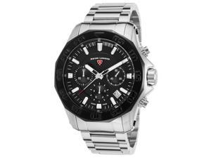 Swiss Legend 16199Sm-11-Bb Islander Chronograph Stainless Steel Black Dial Watch