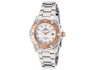 Rotary Women's Aquaspeed White MOP Dial Two-Tone Stainless Steel Bracelet