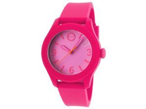 ESQ 7101455 Unisex One Hot Pink Silicone Lilac Dial Watch