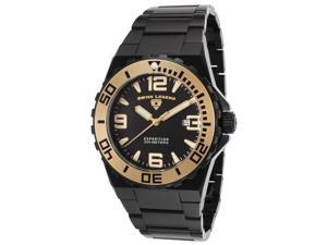 Swiss Legend 10008-Bb-11-Ga Expedition Black Ip Ss And Dial Black Ip Ss Gold-Tone Accents Watch