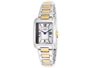 Rotary Lb02651-41 Women's Two-Tone Stainless Steel Mop Dial Watch
