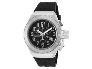 Swiss Legend 13844-01-Wa Trimix Diver 2.0 Chrono Black Silicone And Dial Watch