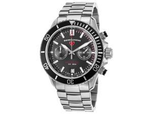 Swiss Legend 13857Sm-11 Oceanaire Chronograph Stainless Steel Black Dial Stainless Steel Watch