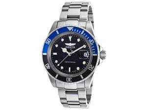 Invicta Ile9937obasyb Men's Pro Diver Automatic Stainless Steel Black Dial Watch