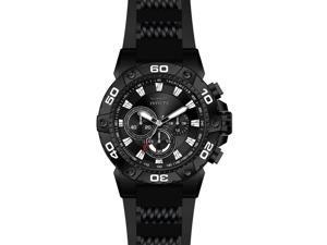 Invicta 22686 Men's Speedway Chronograph Black Silicone Black Dial Black Ip Ss Watch