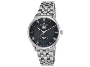 Maurice Lacroix Mp6707-Ss002-310 Men's Masterpiece Automatic Stainless Steel Black Dial Stainless Steel Watch