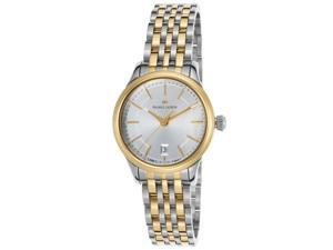 Maurice Lacroix Lc1113-Pvy13-130 Women's Les Classiques Ss And Gold-Tone Ss Silver-Tone Dial Ss Watch