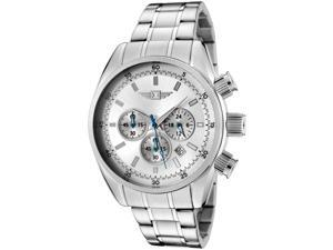 I By Invicta 89083-001 Men's Chronograph Stainless Steel Silver-Tone Dial Ss Watch