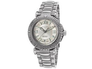 Armand Nicolet 9460A-Ag-M9460 Women's Sloop Royal Automatic Ss Silver-Tone Dial Ss Watch