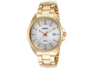 Seiko SUR064P1 Men's Gold-Tone & Silver-Tone Dial Stainless Steel Watch