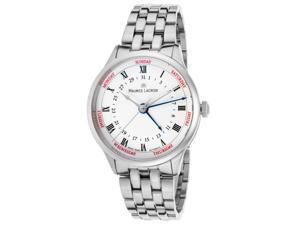 Maurice Lacroix Mp6507-Ss002-112 Men's Masterpiece Cinq Aiguilles Automatic Ss White Dial Ss Watch