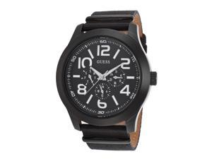 Guess W11623g1 Mens Gents Black Nylon And Dial Watch
