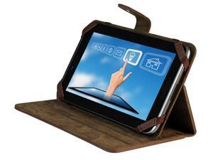 "vitalASC Sonic-ST0720 7"" Android 4.0 Tablet PC - 1.2GHz, 1G DDR3, 8GB HDD, Wi-Fi b/g/n, Camera with Leather Case and Stand ( Brown )"
