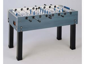 Garlando Steel Blue Foosball Table - Weatherproof
