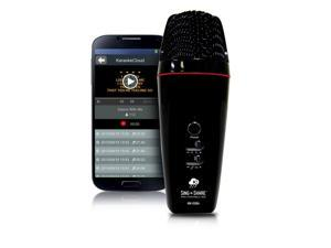 Sing n Share Pro Portable Mic for Android (Black) with Karaoke Streaming