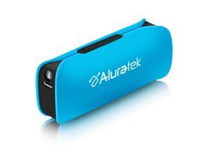 Aluratek Portable Battery Charger - Blue