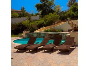 Christopher Knight Home Toscana Outdoor Chaise Lounge (Set of 4)