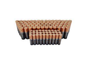 Duracell (100AA & 100AAA) Duralock Copper Top Alkaline Batteries Gift Included
