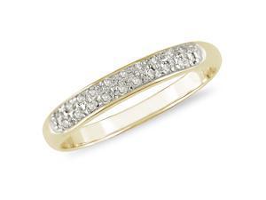 1/10 ct Fashion Diamond Ring in 10k Yellow Gold, I2-I3, G-H-I