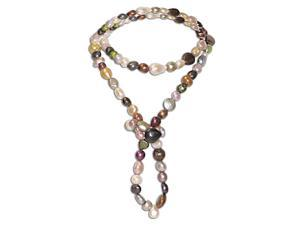 36 '' Multi-Color, Multi-Size & Multi-Shape FW Pearl Endless Necklace (8-11mm)