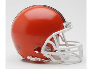 Creative Sports RD-BROWNSTB-MR-75-05 Cleveland Browns 1975-2005 Throwback Riddell Mini Football Helmet