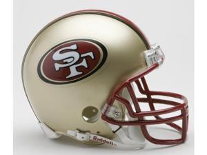 Creative Sports RD-SF49ersTB-MR96-08 San Francisco 49ers 1996-2008 Throwback Riddell Mini Football Helmet