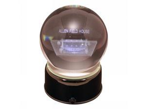 Sports Collectors Guild NewYankeeLES New Yankee Stadium- Home of the New York Yankees- etched in a musical turning crystal ball