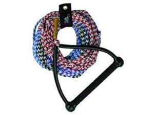Kwik Tek  AHSR-4 Water Ski Rope  75 Ft. 4-Section  Tractor Handle