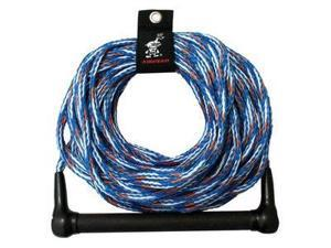 Kwik Tek  AHSR-5 Airhead Ski Rope   1 Section  75 Ft.  4 Ft Finger Guards