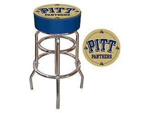University of Pittsburgh Padded Bar Stool