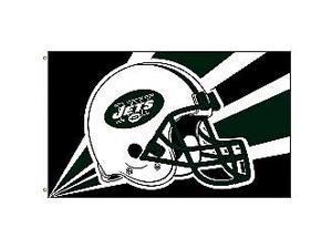 Fremont Die- Inc. 94239B 3 Ft. X 5 Ft. Flag W/Grommetts - New York Jets