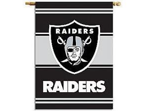 Fremont Die- Inc. 94804B 2-Sided 28 X 40 House Banner - Oakland Raiders