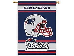 Fremont Die- Inc. 94811B 2-Sided 28 X 40 House Banner - New England Patriots