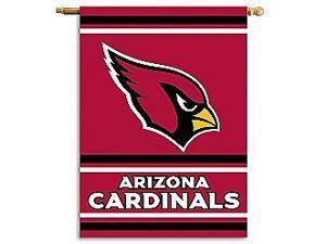 Fremont Die- Inc. 94822B 2-Sided 28 X 40 House Banner - Arizona Cardinals