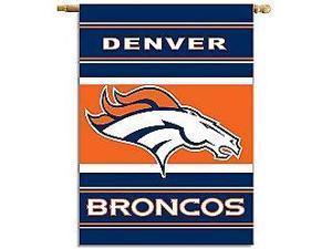 Fremont Die- Inc. 94832B 2-Sided 28 X 40 House Banner - Denver Broncos