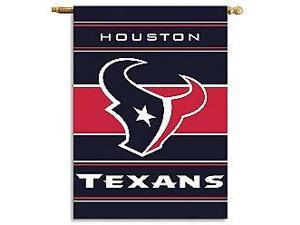 Fremont Die- Inc. 94863B 2-Sided 28 X 40 House Banner - Houston Texans