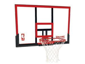 Spalding 79354 48 in. Basketball Backboard, Goal and Net Combo