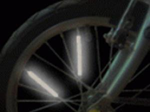 Bright Ideas BRS1 Pack of 10 bike spoke reflectors
